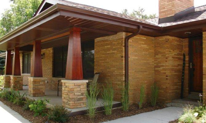 Ranch Porch Addition Craftsman Milwaukee