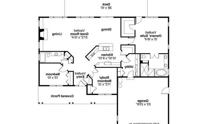 Ranch Split Bedroom Floor Plans House Home Plan