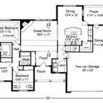 Ranch Style Home Open Floor Plan Descriptions House Plans
