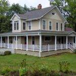 Ranch Style Home Plans Wrap Around Porch Design Inside