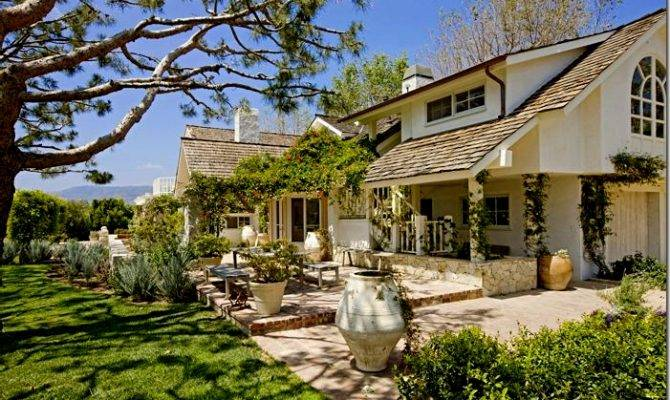 Ranch Style Home Robert Downy Malibu California