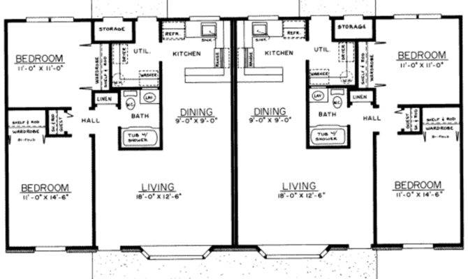 Ranch Style House Plan Beds Baths Main