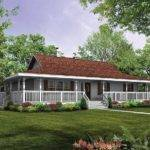 Ranch Style House Plans Basement Wrap Around
