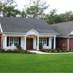 Ranch Style House Plans Porches Unique