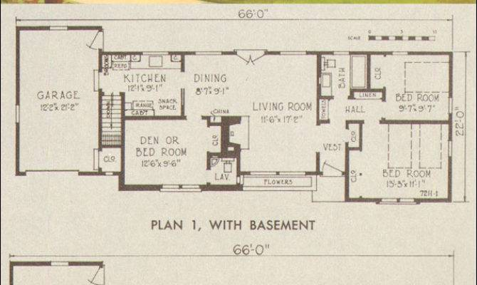 Ranch Style House Plans Retro