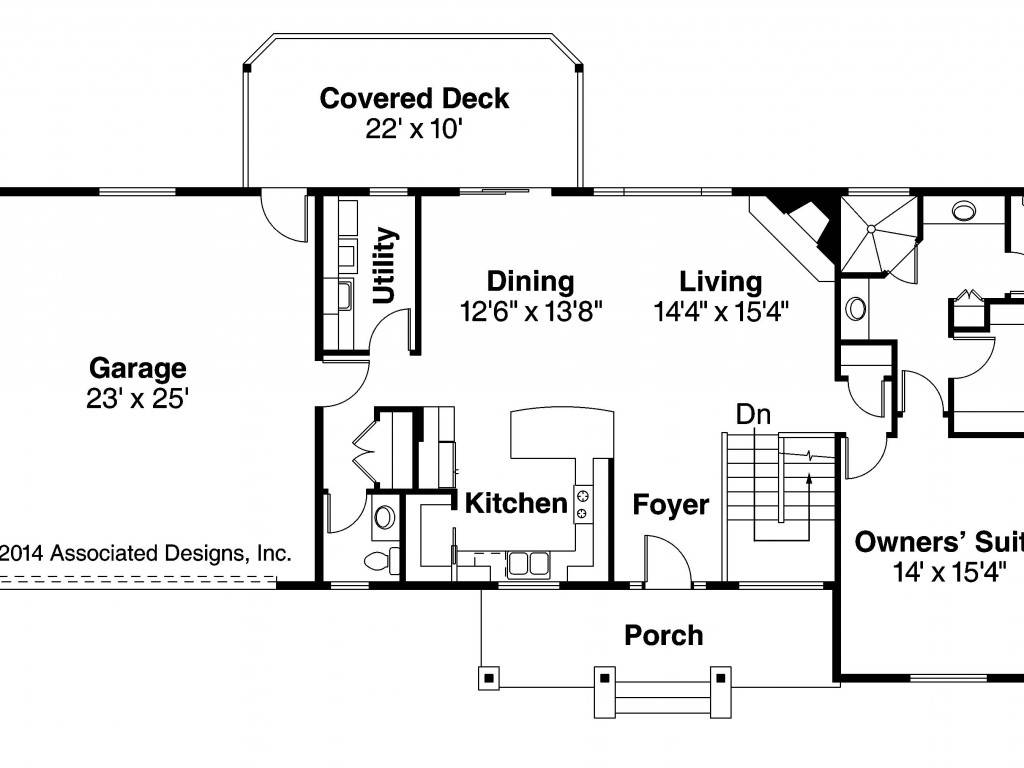 ranch style house plans walkout basement house plans
