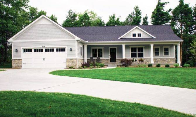 Ranch Style House Simple Walkout