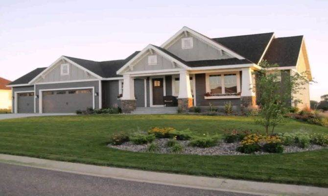 Ranch Style Rambler House Plans Youtube