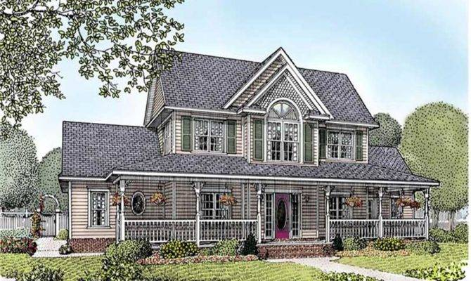 Ranch Traditional Country House Plans Design