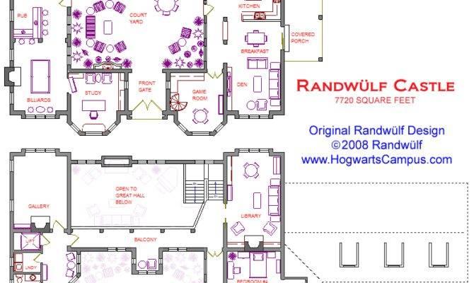 Randwulf Castle Floor Plan