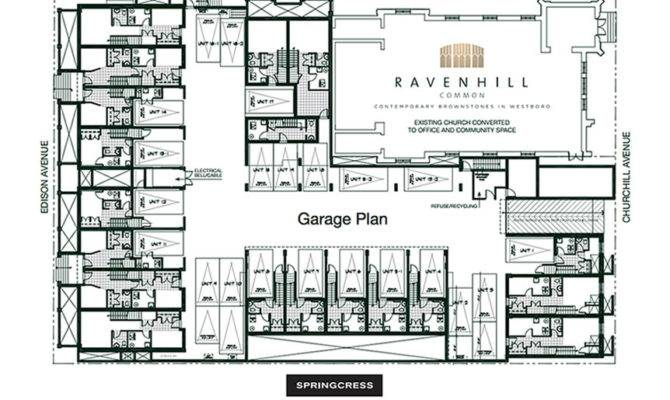 Ravenhill Common Underground Garage Plan