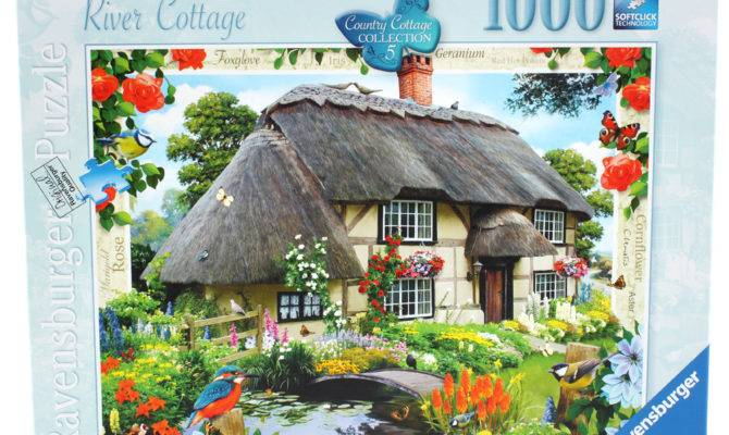 Ravensburger Country Cottage Collection River