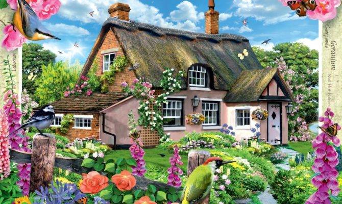 Ravensburger Country Cottage River Jigsaw Puzzle