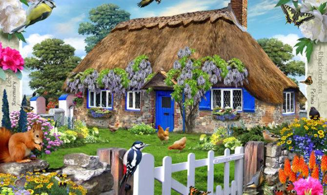 Ravensburger Jigsaw Puzzles Country Cottage Collection