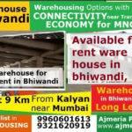 Rcc Warehouse Lease Rent Bhiwandi Antariksh Logidrome