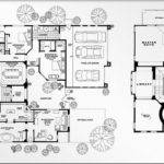 Real Estate Color Floor Plan Design Luxury