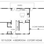 Real Estate Floor Plan First Story Home Bloomington