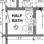 Real Life Experience Small Half Bath