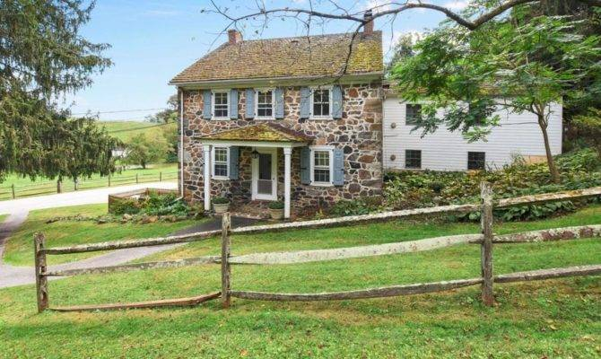 Really Old Stone Homes Sale Pennsylvania