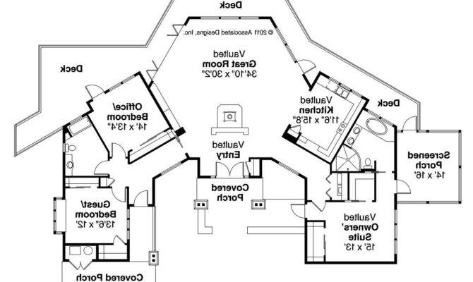 Rear House Plans Modular Guest Luxury Homes Bedroom