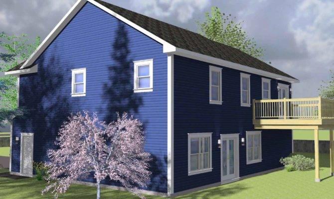 Rear House Plans