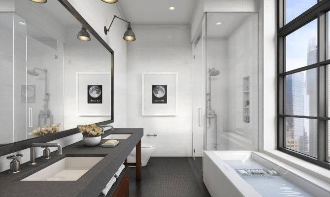 Rectangle Bathroom Designs Rectangular Tiles