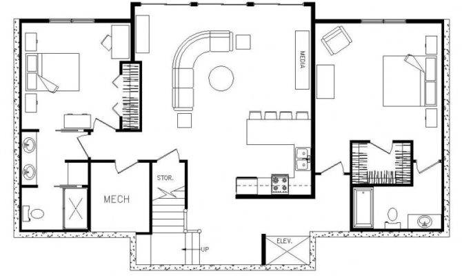 Rectangle House Plans Withal Excellent Rectangular Floor