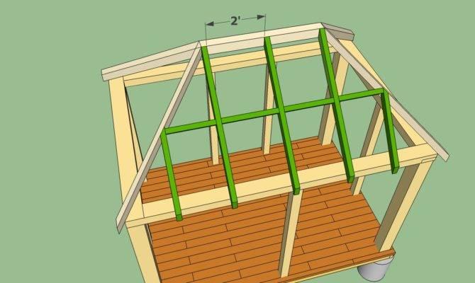 Rectangular Gazebo Plans Howtospecialist Build