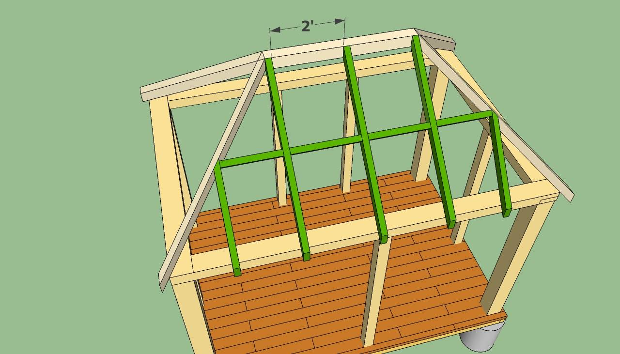 Construction Pergola Bois Plan rectangular gazebo plans howtospecialist build - house plans