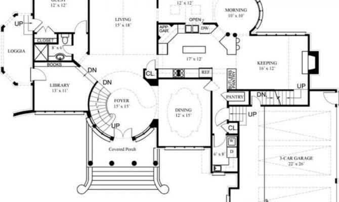 Rectangular House Floor Plans Design