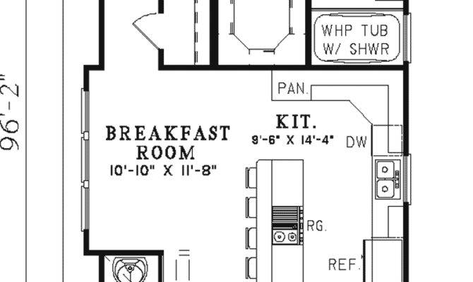 Rectangular House Plans Alternate Floor Plan