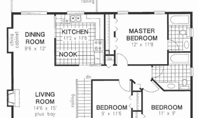 Rectangular House Plans Unique Plan