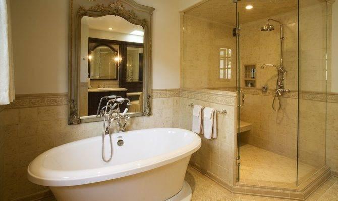 Rectangular Master Bathroom Design Wiring