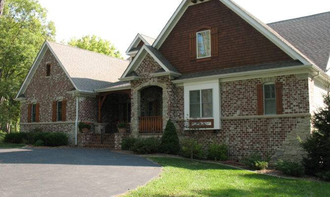 14 Harmonious Brick Homes With Stone Accents House Plans
