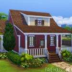Red Bungalow Fake Houses Real Awesome Sims Updates