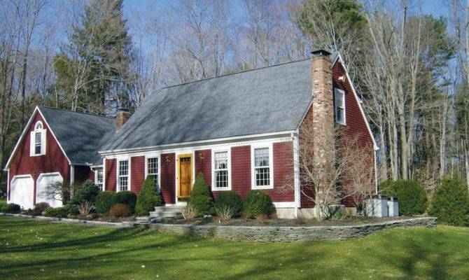 Red White Cape Cod Colonial Nicole House Pinterest