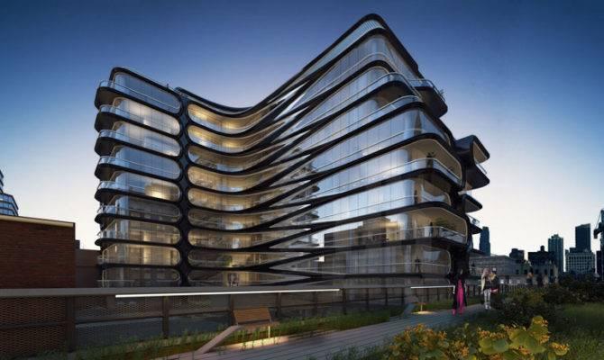 Related Companies Design Luxury Condo Along High Line Designboom