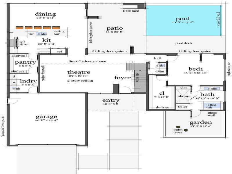 Remarkable Floor Plans Beach House Design Home House Plans 64535