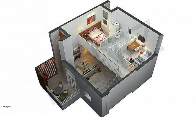Remarkable Three Dimensional House Plans Best