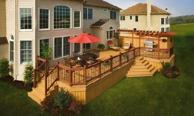 Remarkable Wood Outdoor Deck Design Jpeg