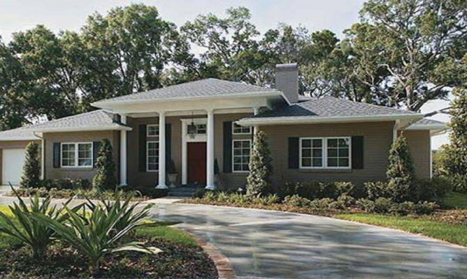 Remodel House Exterior Ranch Style Home Paint