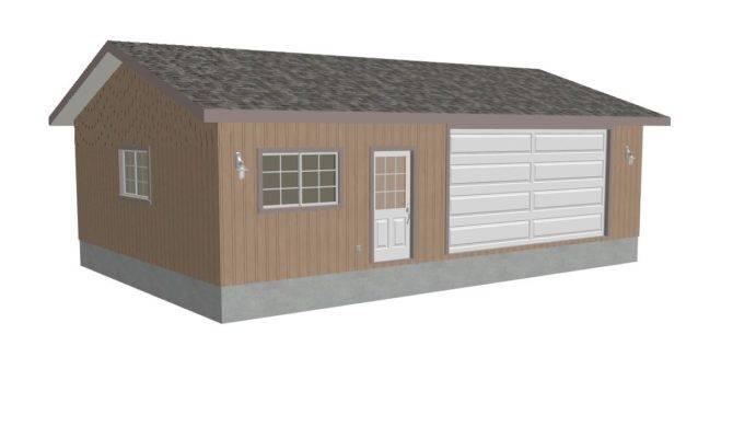 Render Garage Plans