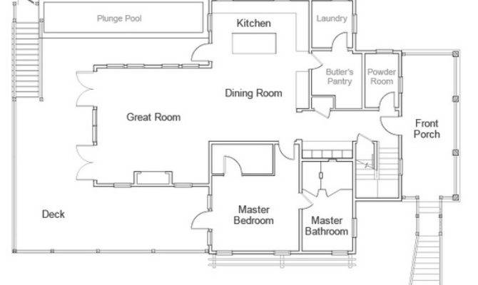 Renderings Floor Plan Hgtv Dream Home