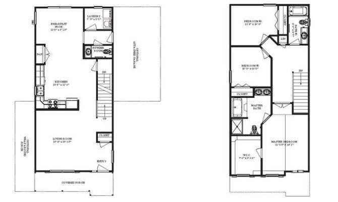 Renderings Floor Plans Condor Return Narrow Lot Series Plan
