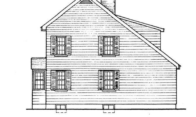 Resca Saltbox Shed Blueprints