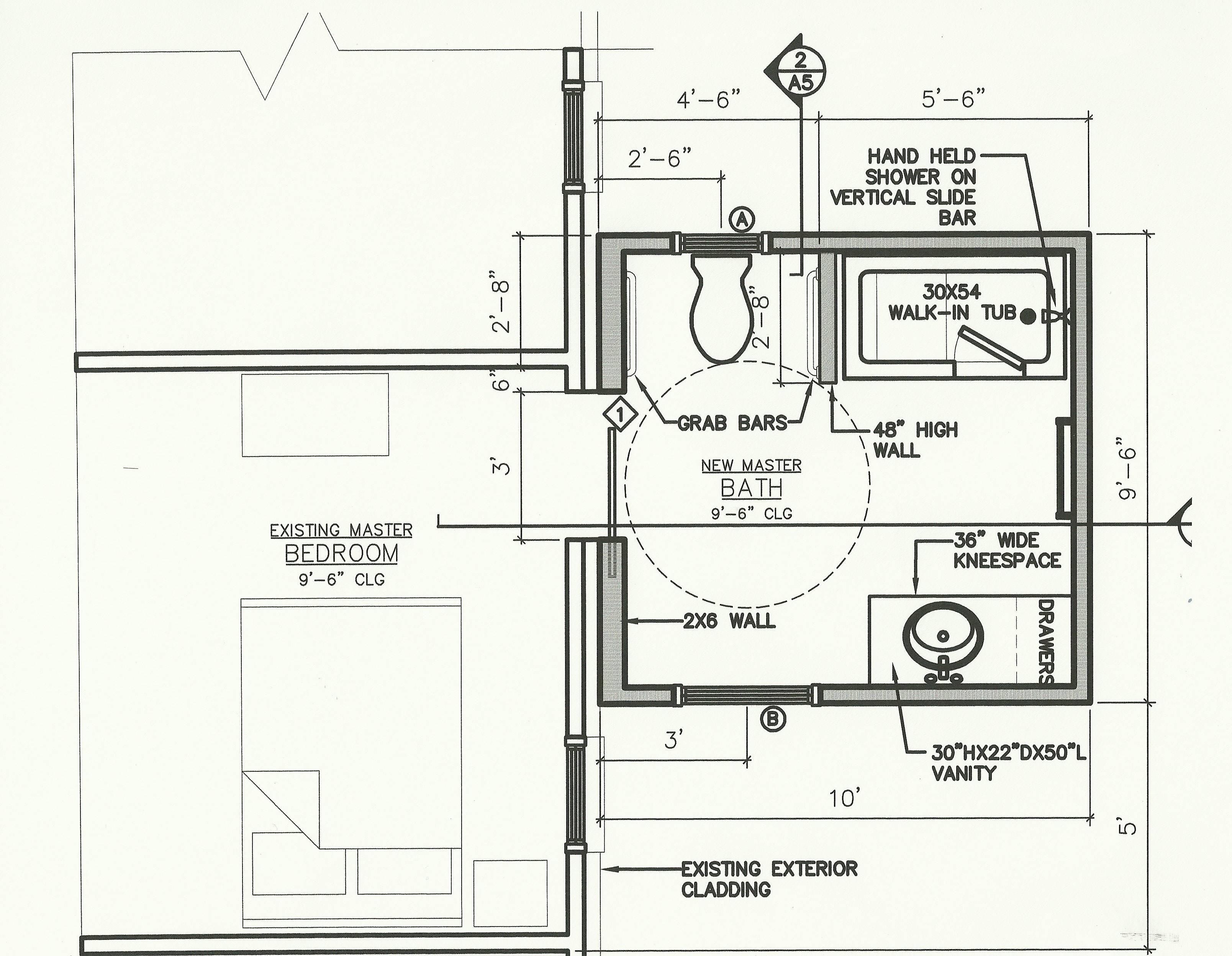 Residential Ada Bathroom Floor Plans Quotes House Plans 12280