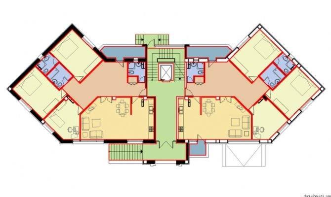 Residential Building Antarain Floor Plans Armenian