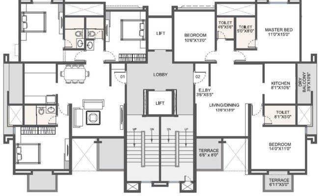 Residential Building Drawings Homes Floor Plans