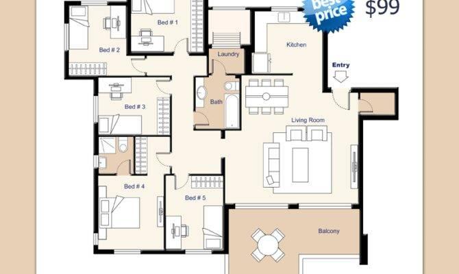 Residential Building Floor Plans