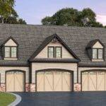 Residential Car Garage Plan Architectural